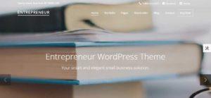 entetrepreneur wordpress theme