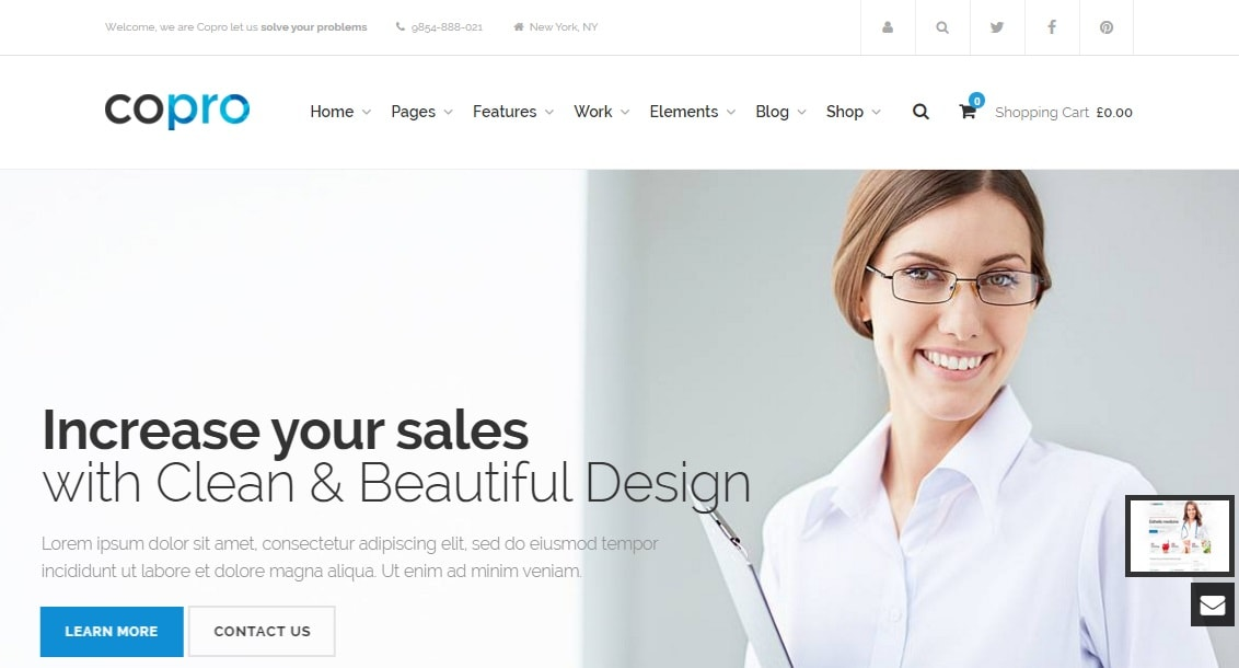 copro wordpress theme