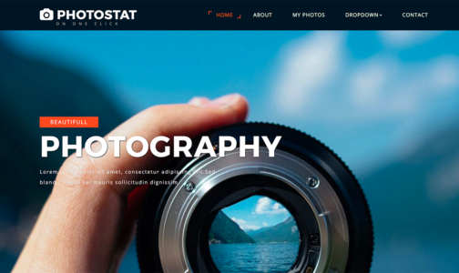 15+ Best Free Bootstrap Image Gallery Templates