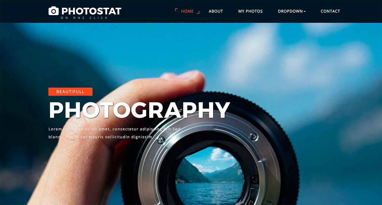 15 Best Free Bootstrap Image Gallery Templates Xoothemes