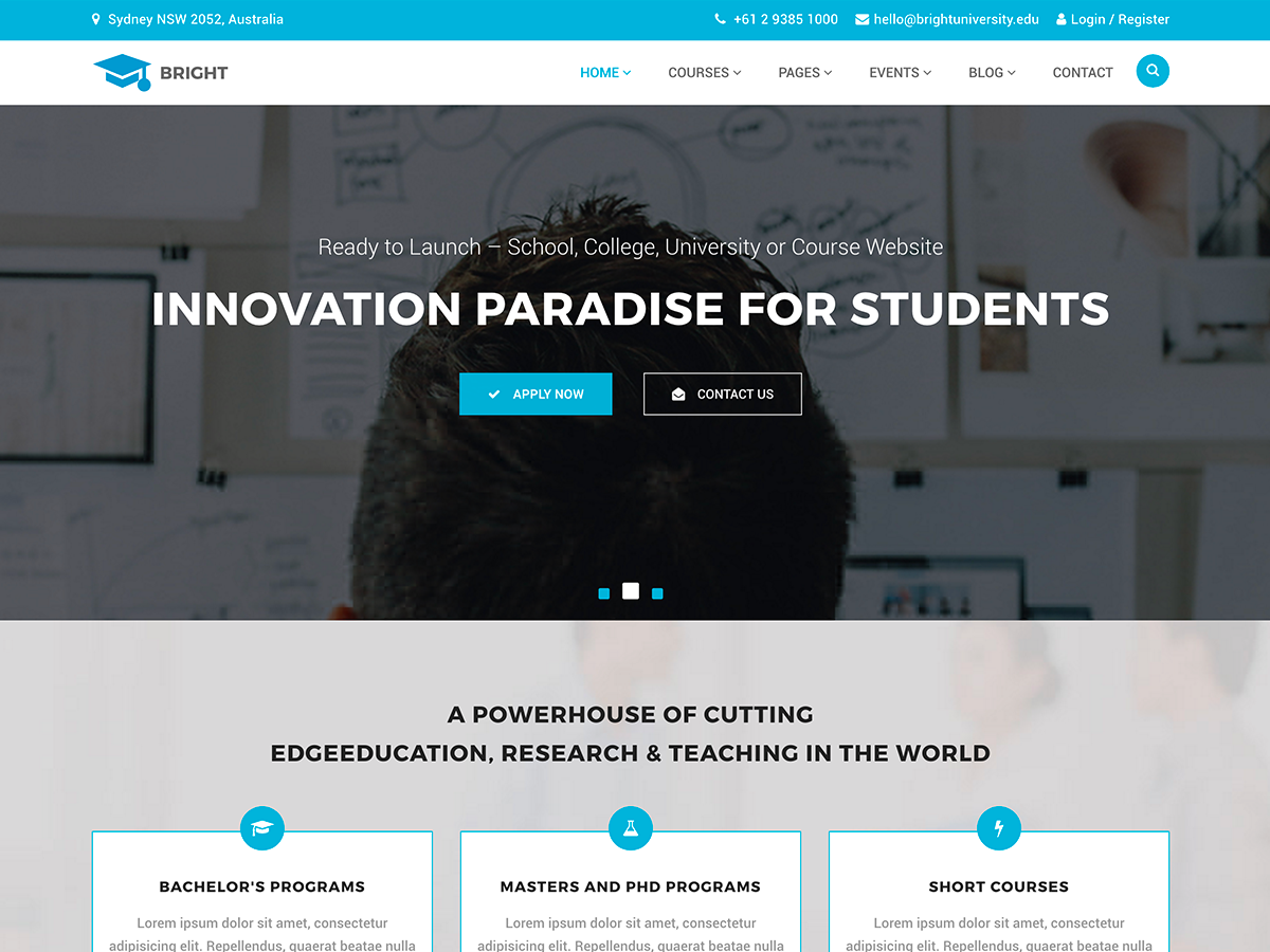 20 Best Education WordPress Theme