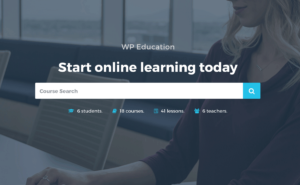 WP Education - The Ultimate WordPress LMS Theme